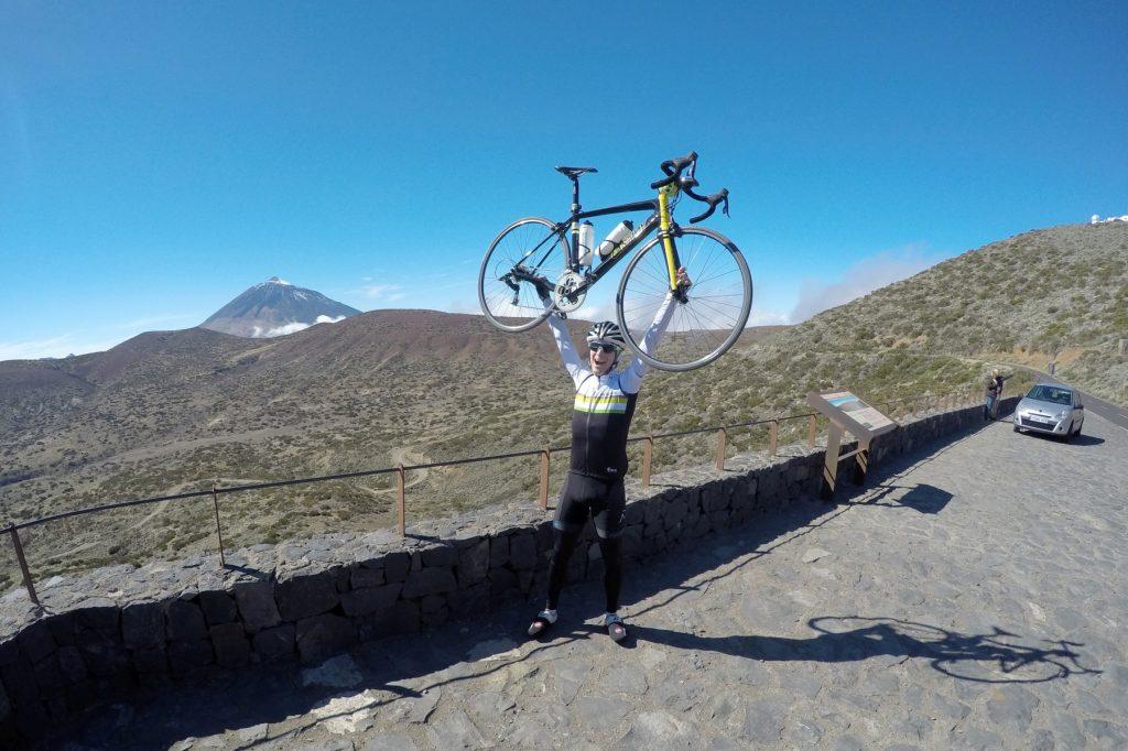 Kolesarske priprave Tenerife