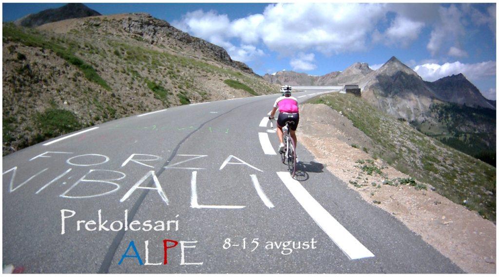 Kolesarjenje francoske Alpe