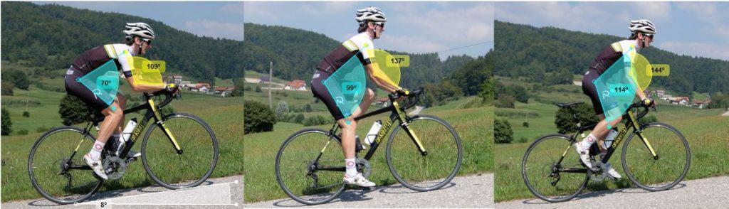 Prvailen položaj pri kolesarjenju v klanec vam pomaga hitreje kolesariti. Aleksej Dolinšek trener kolesarstva