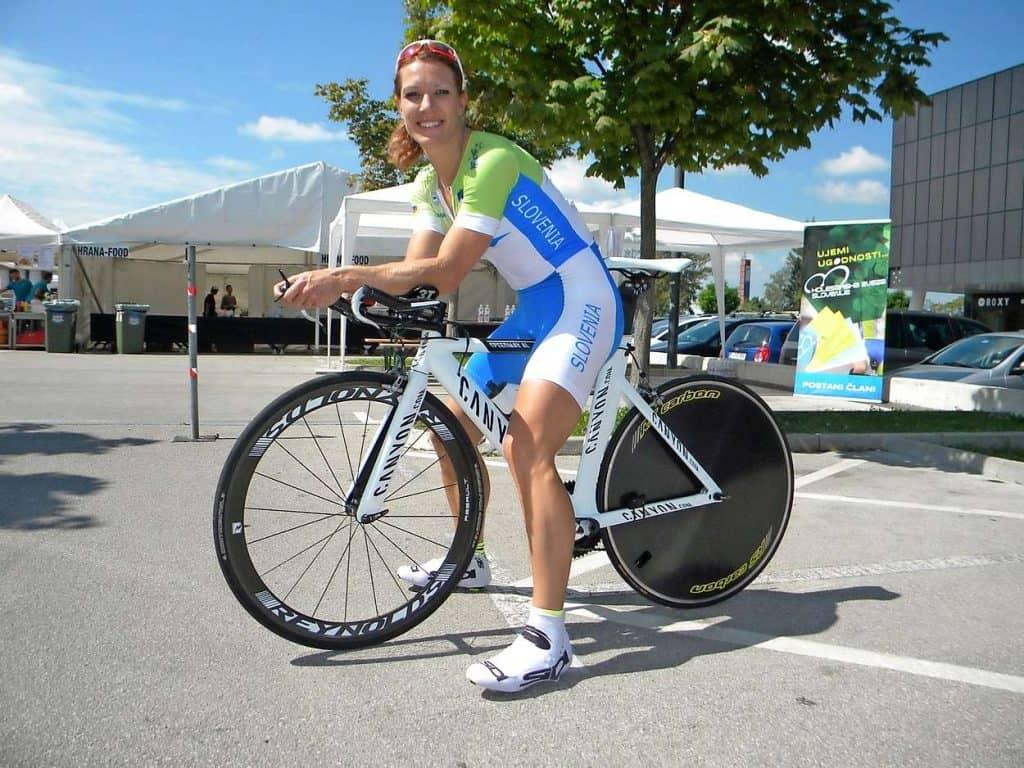 Danijela Svetik svetovna prvakinja amaterska kolesarka slovenska reprezentantka