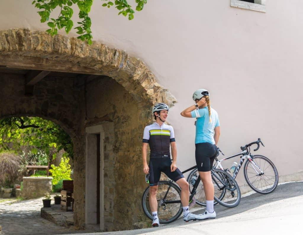 projekt pomlad kolesarski trening aleksej dolinšek trener kolesarstva