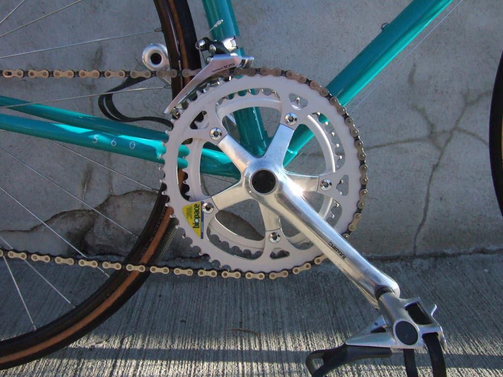 zobniki shimano biopace ovalni aleksej dolinšek trener kolesarstva