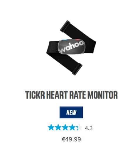 Wahoo Tickr senzor srčnega utripa