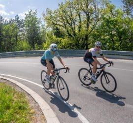 Trening kolesarstva cestna vožnja Aleksej Dolinšek trener kolesarstva