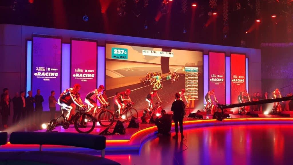 Državno prvenstvo virtualno kolesarjenje ZWIFT Anglija 2019.