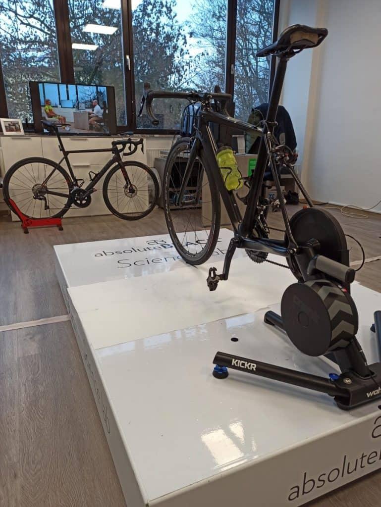 Kolo pripravljeno na nastavitev Aleksej Dolinšek trener kolesarstva