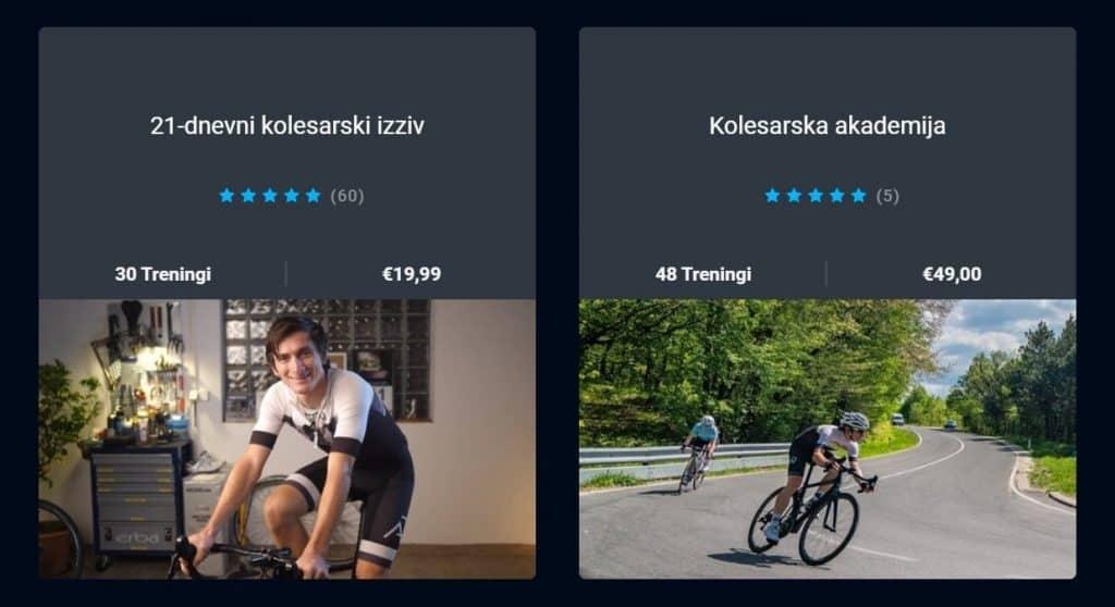 Online kolesarski program trening Aleksej Dolinšek trener kolesarstva