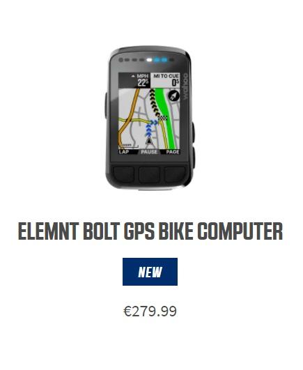 Novi wahoo elemnt bolt V2 kolesarski števec poštena cena